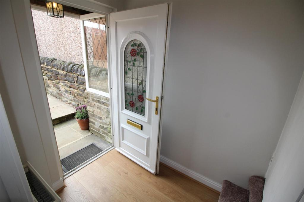ENTRANCE PORCH AND H