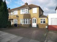 semi detached house in Connaught Avenue...