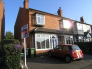 Olton Road semi detached house to rent