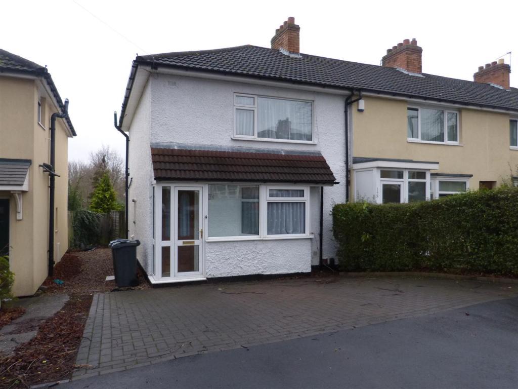 2 Bedroom House To Rent In Glastonbury Road Birmingham B14