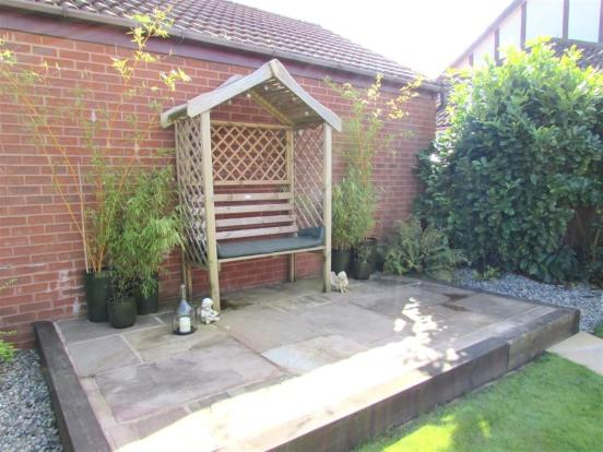 Rear Garden Seating