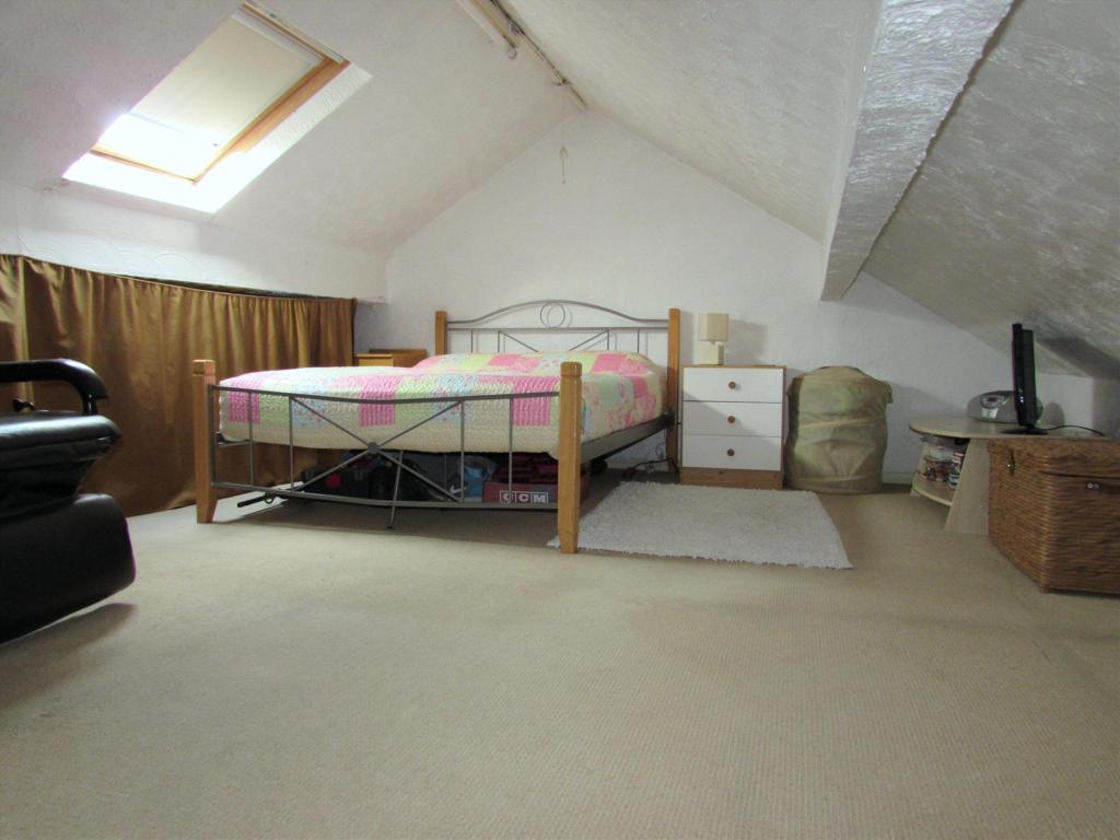 Loft Room Used As Be