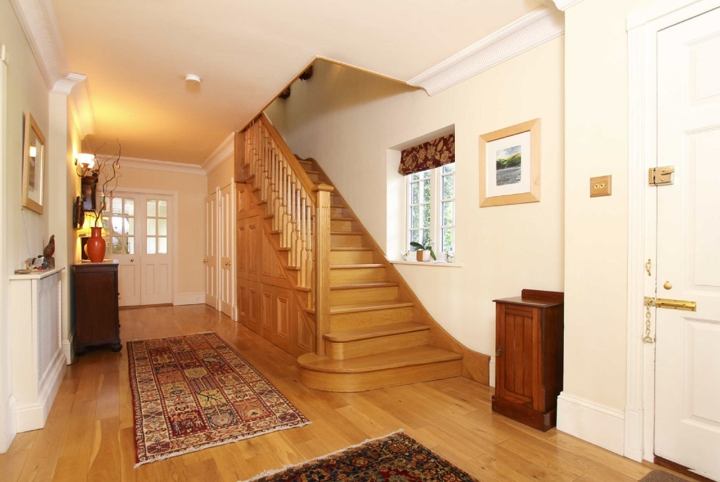 Staircase stairs hall design ideas photos inspiration Design ideas for hallways and stairs