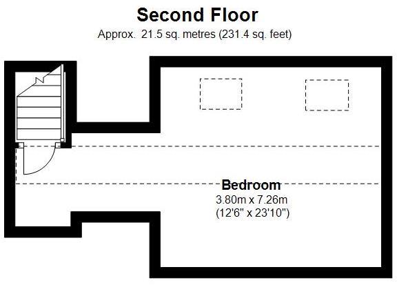 second floor floorpl