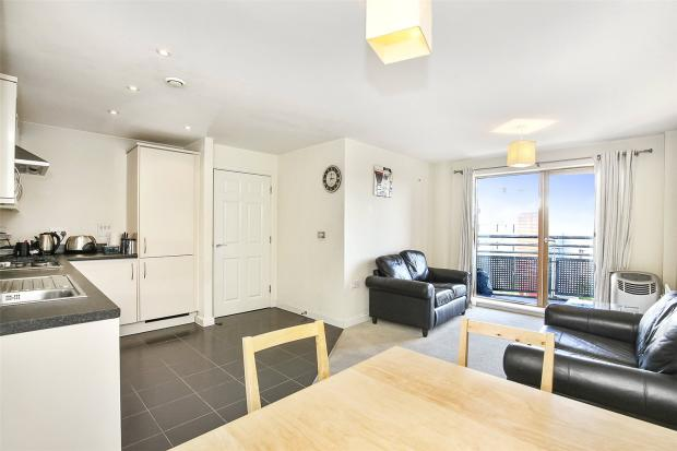 Living Area-Kitchen