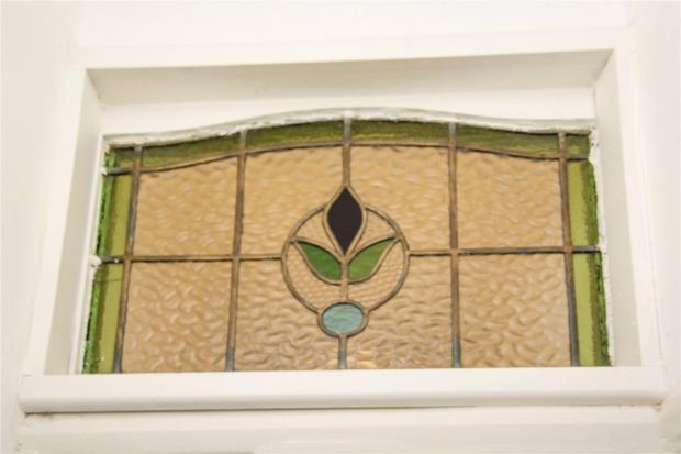 Entrance Door Detail