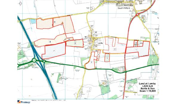 Location of plots