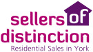 Sellers Of Distinction, York branch logo