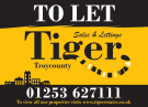 Tiger Sales & Lettings, Blackpool, Whitegate Drive logo