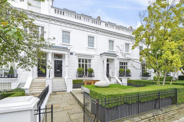 Terraced house for sale in egerton terrace london sw3 for 23 egerton terrace kensington