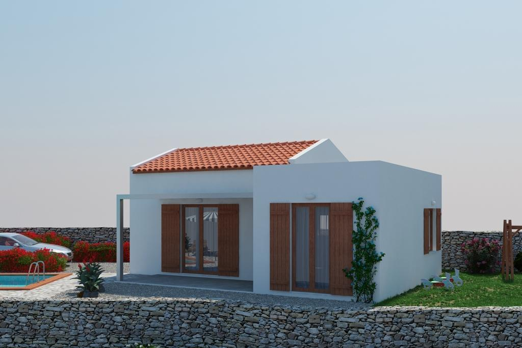2 bed Detached home in Crete, Rethymnon...