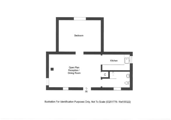 Floor Plan - Bothy