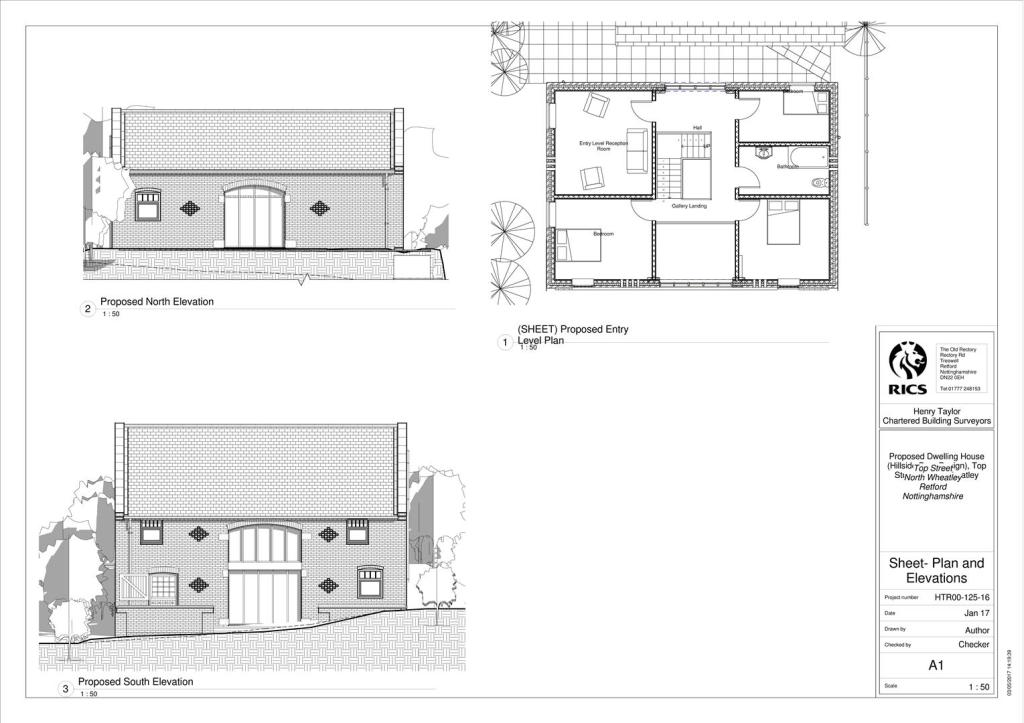 Plan and Elevations
