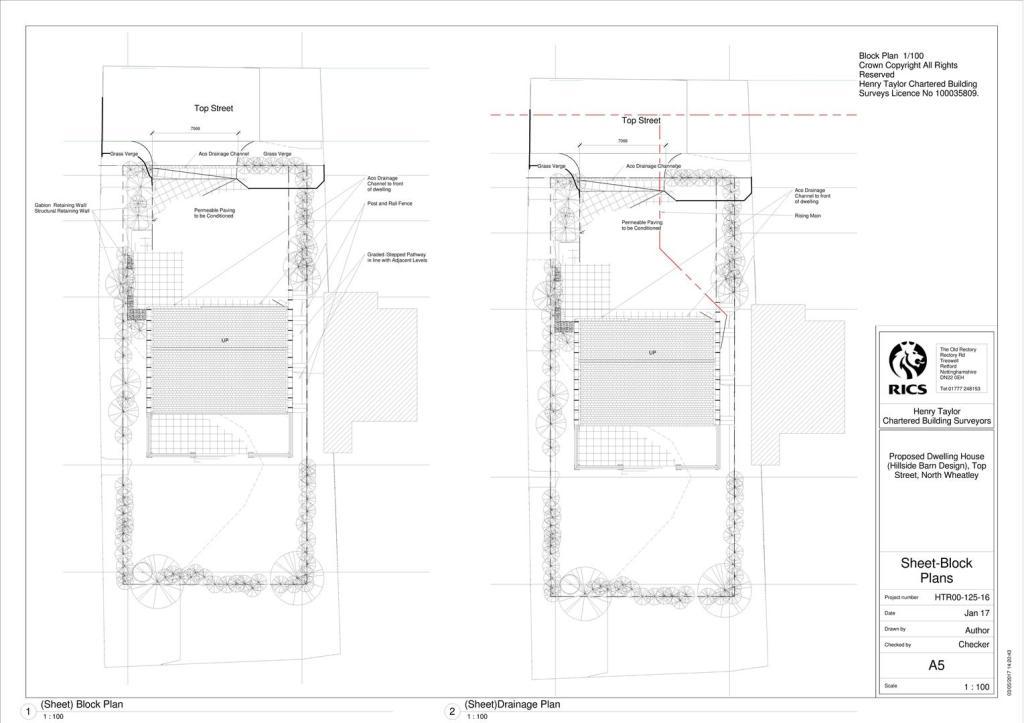 Block Plans