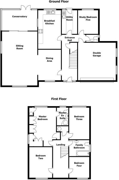 Penrhys House Planta