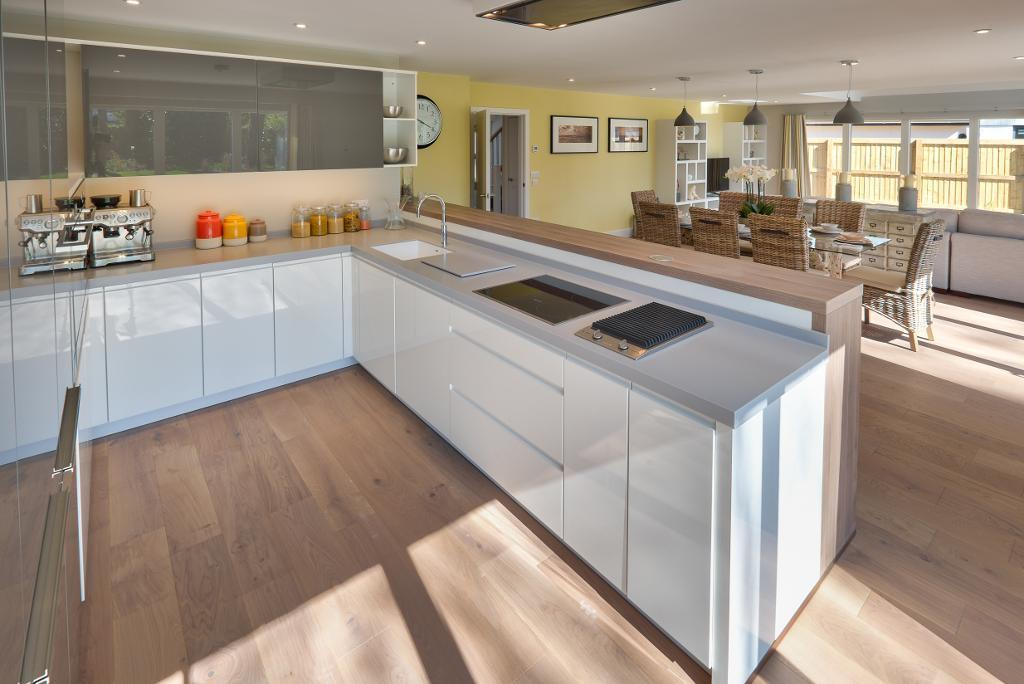 Show Home: Kitchen to Living Area