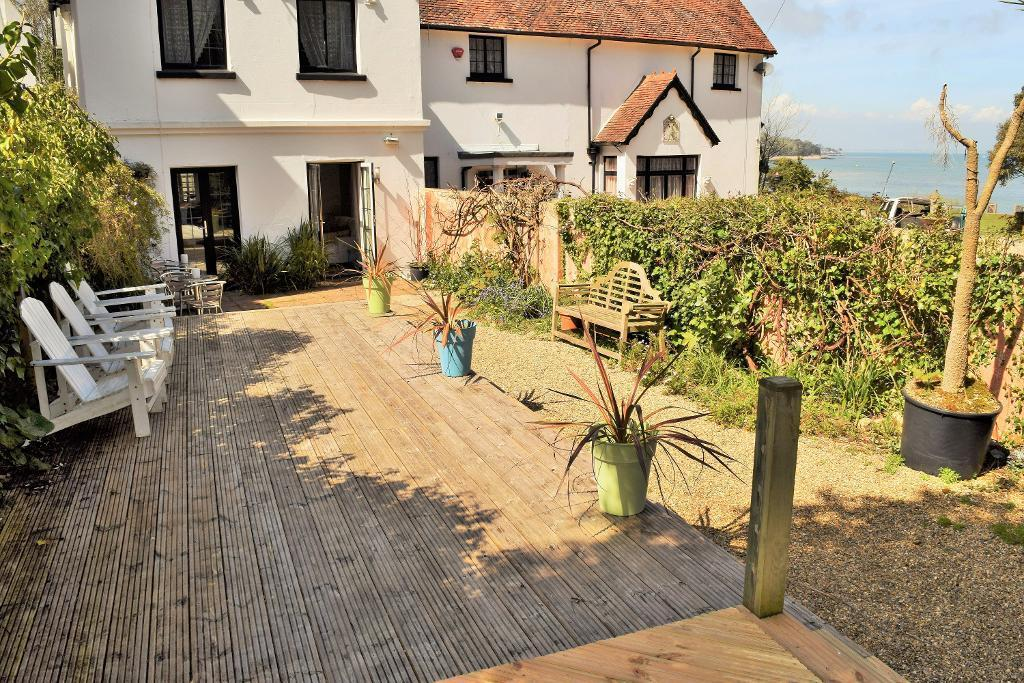 Decking with Sea View