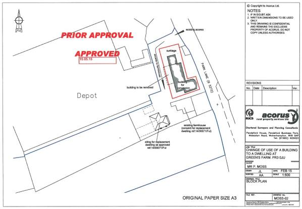 Prior Approval Plan