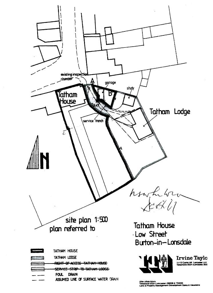 Title/Boundary Plan