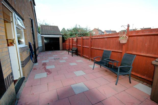 Side Patio Area