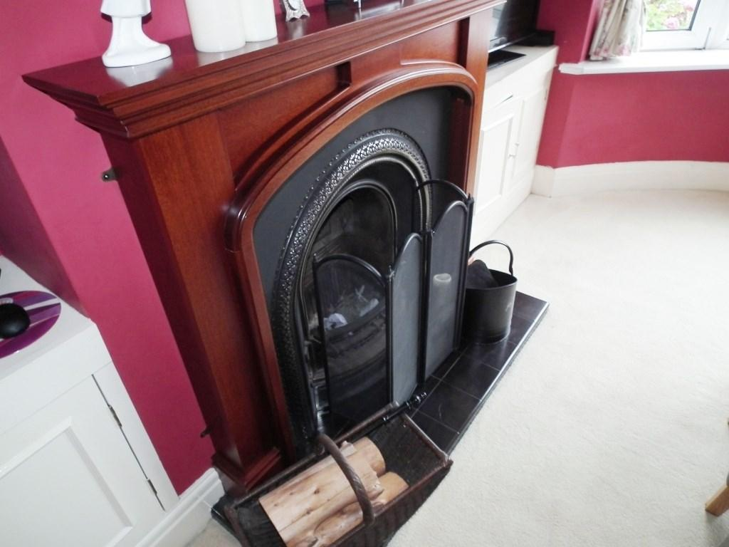 Front Fireplace