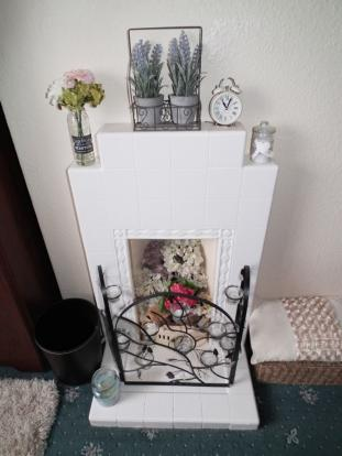 Front Bed Fireplace