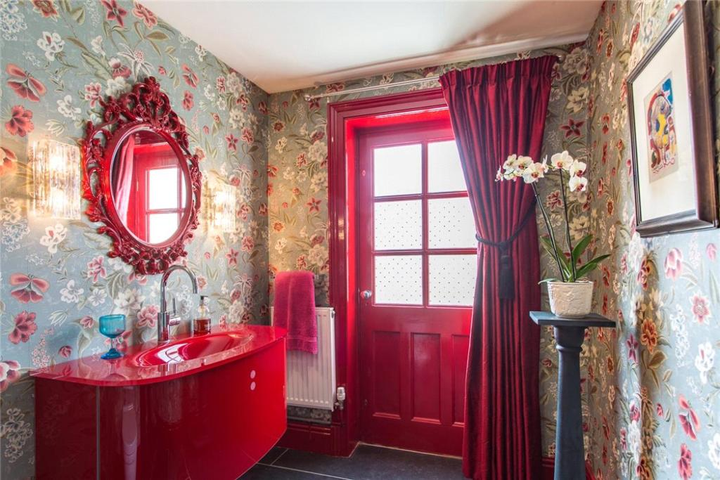 Quirky Cloakroom
