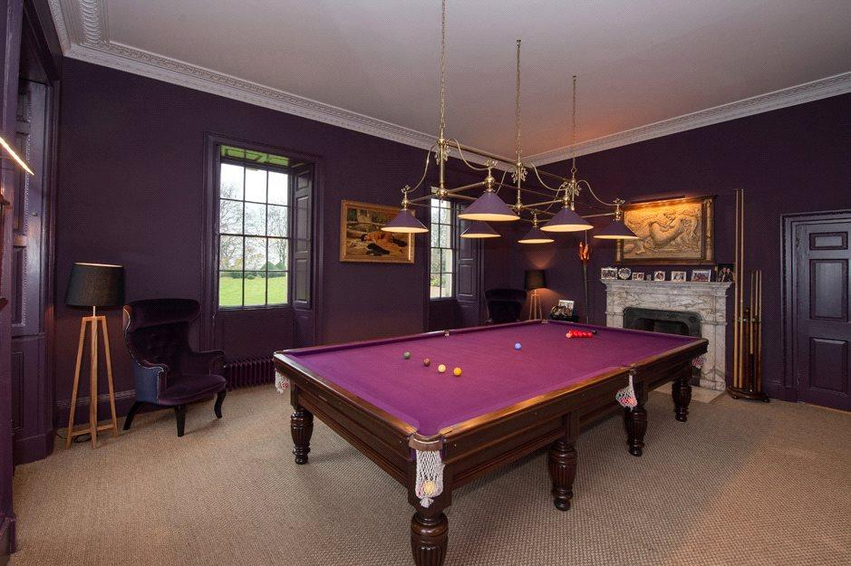 York: Billiard Room