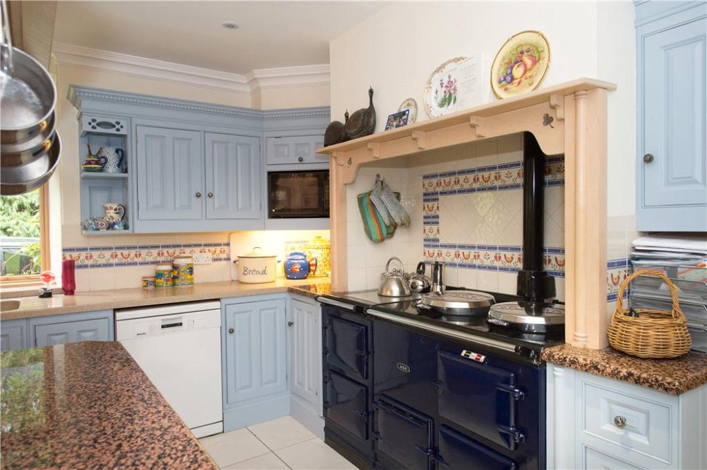 Kitchen With Aga