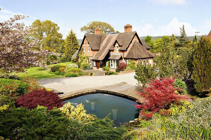 4 Bedroom Detached House For Sale In Woolhope Hereford Herefordshire Hr1 Hr1