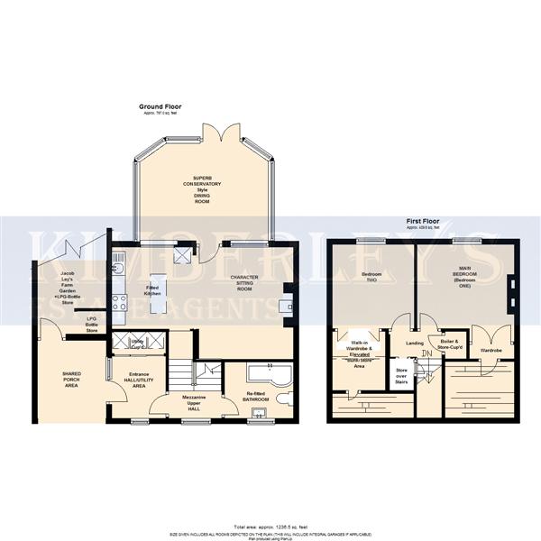 Both floor plans