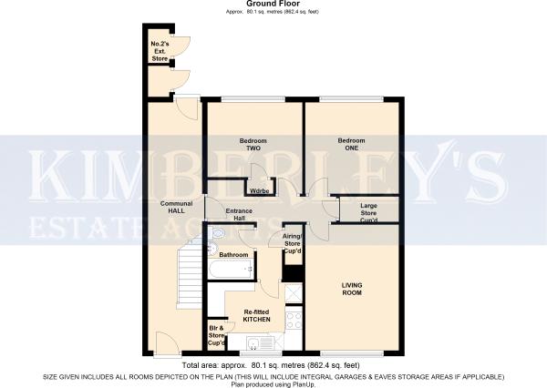Floorplan showing...