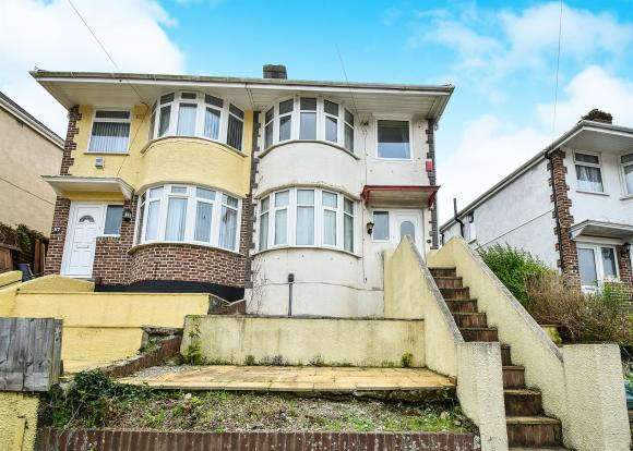 3 bedroom semi detached house for sale in cardinal avenue 3 bedroom houses for sale in plymouth