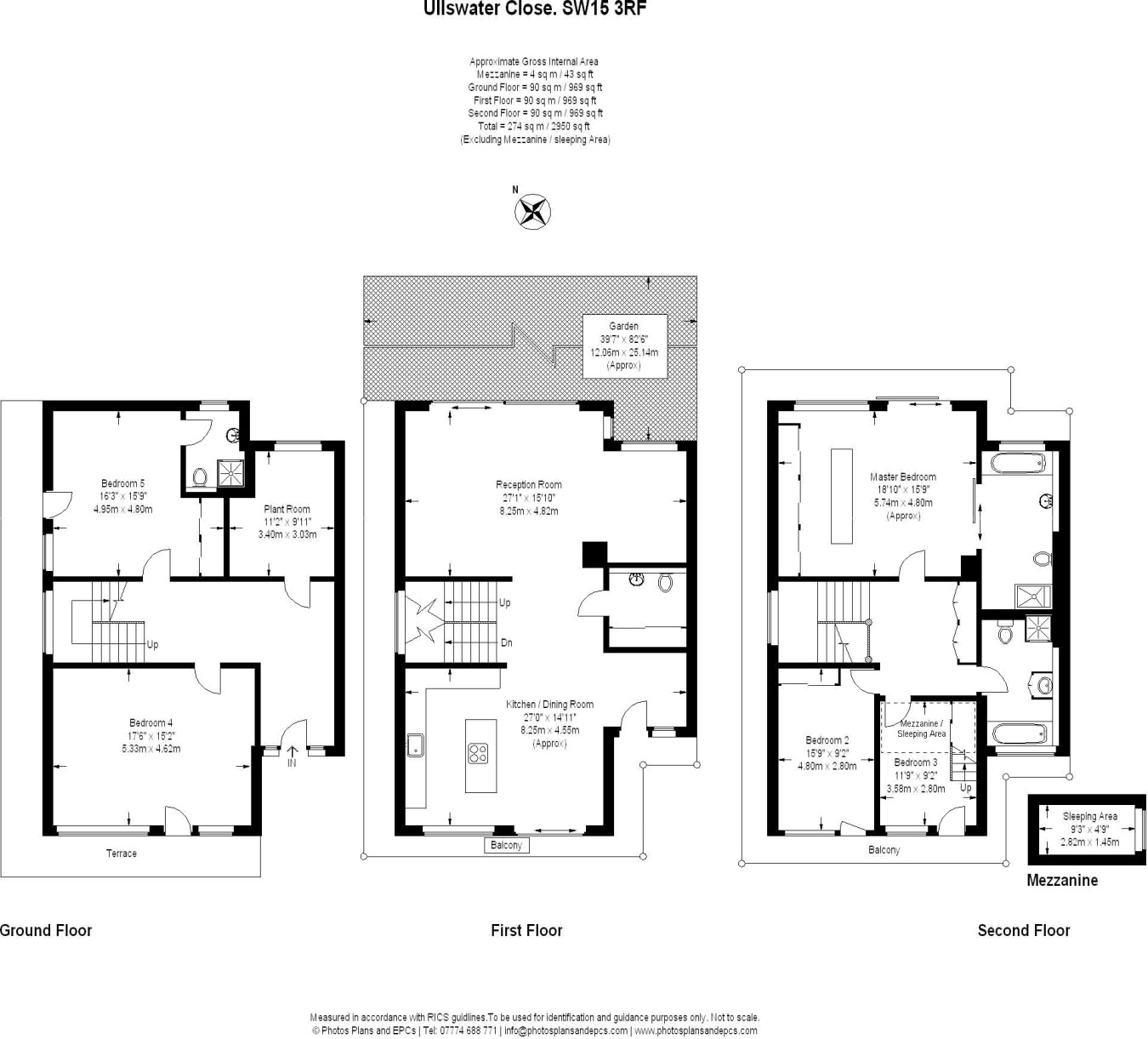 ^ 5 bedroom semi-detached house for sale in Ullswater lose, London ...