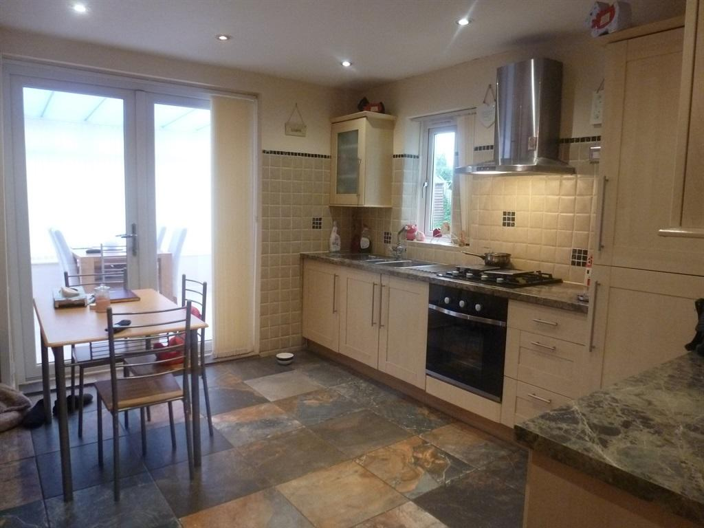 Open Plan Living Kitchen Area: