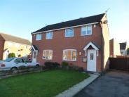 2 bedroom semi detached property for sale in Shoesmith Close, Barwell...