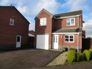3 bedroom Detached property in Hadrian Close, Hinckley