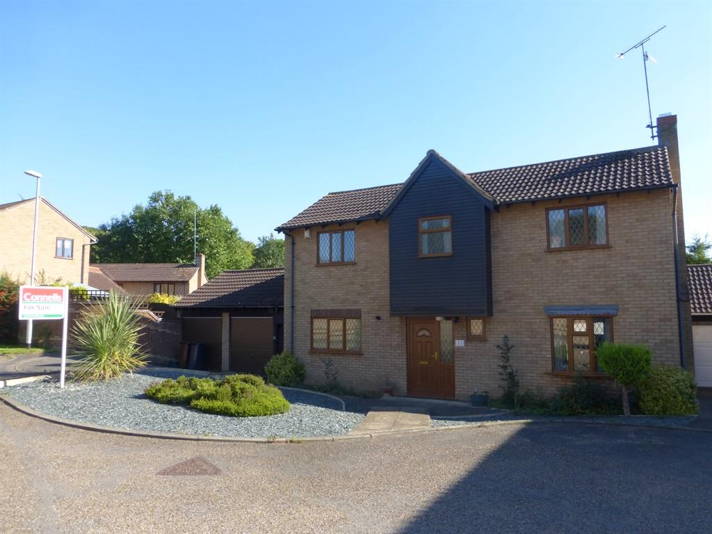 4 bedroom detached house for sale in tollgate close for Garage with accommodation