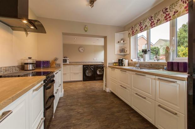 Re-Fitted Kitchen And Utility