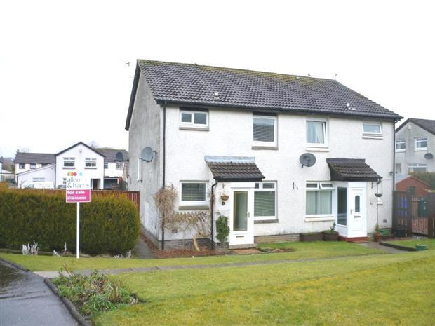 semi detached property for sale in Burnawn Place, Galston