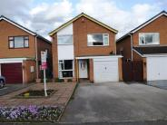 Detached home for sale in Cross Road, Uttoxeter