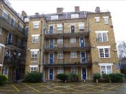 Flat in Othello Close, London