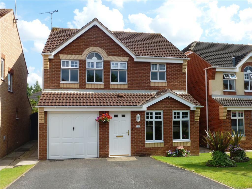4 bedroom detached house for sale in ashcourt drive balby