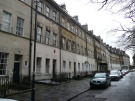 Studio flat in Grosvenor Place, Bath