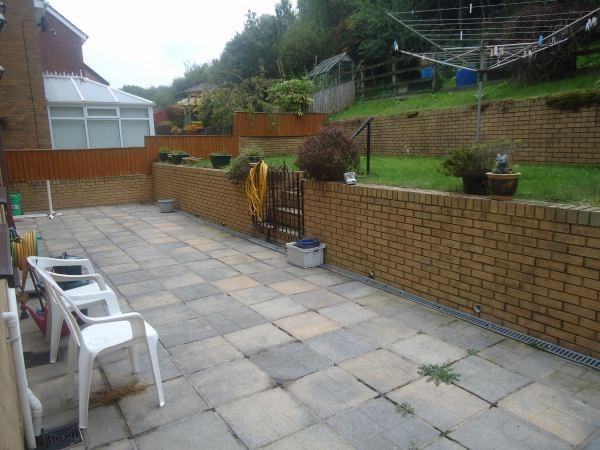 Rear Garden & Patio