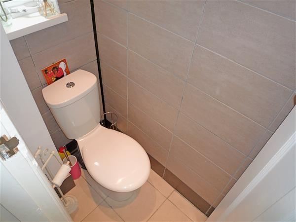 GROUND FLOOR WC: