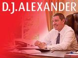 D J Alexander, Edinburgh