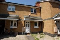 Terraced house to rent in Eyston Drive, WEYBRIDGE...
