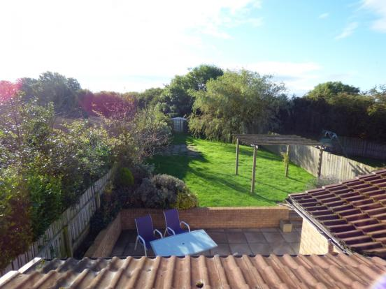Rear garden from the