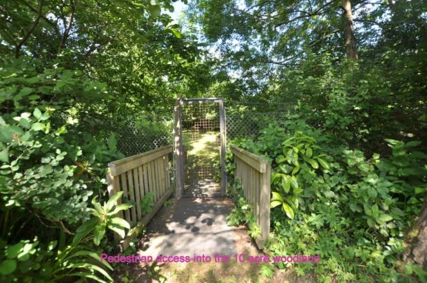 Access to woodland